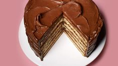 cream frosting Forget the boxed version you grew up with. This yellow cake recipe gets a rich dark-chocolate frosting with a touch of tang thanks to sour cream. Frosting Recipes, Cake Recipes, Dessert Recipes, Desserts, Dessert Ideas, Sour Cream Frosting, Dark Chocolate Frosting, Let Them Eat Cake, Sweet Tooth