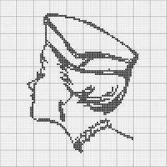 A Fine Hat Cross Stitch_2 by jacqueline | weelittlestitches, via Flickr