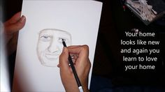 Spirit Guide Portrait by Psychic Artist Janette Oakman & Message On How To Find Peace - Soft Pastels