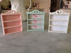 Dolls House Miniature Bookcases or Shelf Units by maisonminis, $15.00
