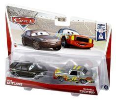 Disney Pixar Cars Piston Cup Die-Cast Bob Cutlass and Darrell Cartrip #3/18 & 4/18 2-Pack 1:55 Scale Mattel http://www.amazon.com/dp/B00A2XLUGI/ref=cm_sw_r_pi_dp_mwTlub00GH5YG