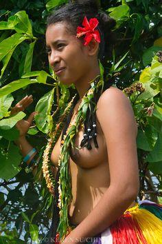 Nude yap island girl