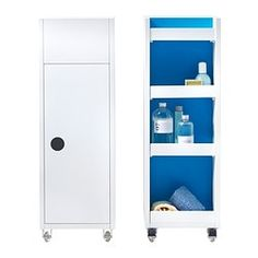 KLAMPEN Carrito - blanco - IKEA 65€ 38x25x75 fondoxanchoxalto