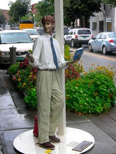 seward johnson sculptures | Seward Johnson street sculpture | Flickr - Photo Sharing!