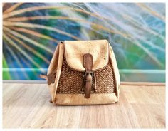 BEFORE 119 EURO - NOW 97 EURO (ABOUT 20% DISCOUNT)    This wonderful shoulder bag, handbag is made from cork. Perfectly finished, High Quality, durable and waterproof. This bag can be a great gift.      Features:    - Made from Cork-Eco-friendly material    - Soft and durable    - One color      External size    20 x 20 x 15cm      How to clean cork?    - Cork is stain and water resistant.    - Cork is very easy to maintain as new, just need to clean with a dump soft cloth.      *Colours may…