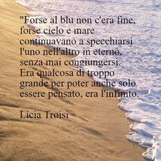 #mare #frasiinitaliano #frasi in italiano #Licia Troisi #citazioni #frasid'autore