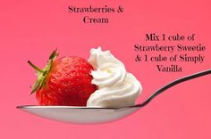 Strawberries & Cream from Bring Back My Bar - June 2015