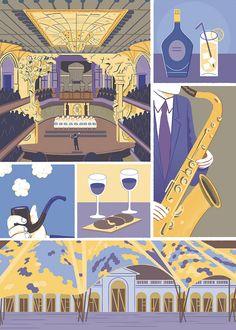 Walk with me publica la nueva colección de guías ilustradas de Barcelona