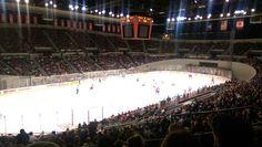 Last night Winterhawks game against the Tri-city Americans. Great game. Go Hawks.