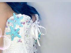 DIY- Mermaid Corset. MerMaid Costume idea