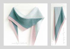 Asymmetrisches Dreieckstuch aus Cotton Wool von Stoff & Stil Anleitung: Linus von Annett Cordes, http://bunte-wolle.jimdo.com/anleitungen/linus/ https://www.facebook.com/LizasLaden/