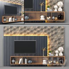Overige – – Tv wall unit – Welcome The Tv Units Living Room Tv Unit Designs, Wall Unit Designs, Living Room Wall Units, Condo Living Room, Tv Wall Design, Living Room Decor Tv, Lcd Unit Design, Lcd Panel Design, Tv Unit Interior Design