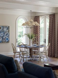 love these french doors with arched tops, hardware
