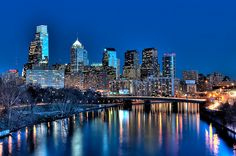Driving down the Schuylkill at night towards Center City, Philadelphia. Philadelphia Skyline, Visit Philadelphia, San Diego, San Francisco, San Antonio, Baltimore, Nashville, Orlando, Places To Travel