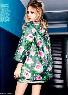 Suki Waterhouse in Valentino for New Queen (Vogue Russia)