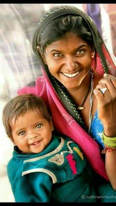 Beaming mother and child Beautiful Smile, Beautiful Children, Beautiful People, Just Smile, Smile Face, Great Smiles, Jolie Photo, Mother And Child, Mothers Love