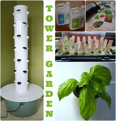 The Tower Garden vertical aeroponics growing system is a healthier, easier, smarter way to grow your own fresh and nutritious fruits, vegetables and herbs.