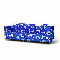 se you can choose a new look for your sofa. Just love the Marimekko blue flowerpattern. Maby in the future. The colours make me happy =) Tylösand Sofföverdrag - Sofföverdrag Marimekko, Make Me Happy, Creative Ideas, New Look, Colours, Future, How To Make, Blue, Diy Creative Ideas