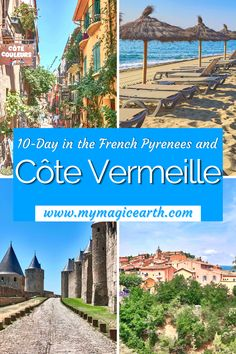 Our 10-Day itinerary in the French Pyrenees and Côte Vermeille took us to some of the best places in southern France such as Collioure, hidden Spanish towns such as Llivia, and also Andorra. France Travel Guide | Pyrenees Travel tips | Andorra| where to go in France | Where to visit in South West of France | Côte Vermeille | Vermeille Coast | Itinerary for Southwest France #France #法国 #familytravel #CôteVermeille #beautifulplace #franceroadtrip #beach #Franceitinerary #itinerary… Europe Travel Guide, France Travel, Travel Guides, Places In Europe, Places Around The World, Around The Worlds, Spanish Towns, Hidden Places, Southern France