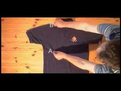 Como dobrar camisas em 2 segundos #ficaadica