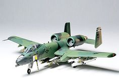 Tamiya A-10 Thunderbolt II -- Plastic Model Airplane Kit -- 1/48 Scale -- #61028 www.hobbylinc.com
