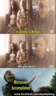 MICHONNE ACCOMPLISHED ~ The Walking Dead Fan Art