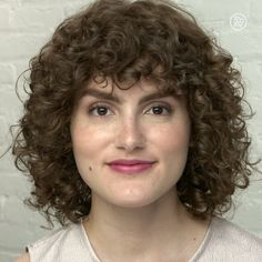 This shag cut is super on trend and perfect for curls