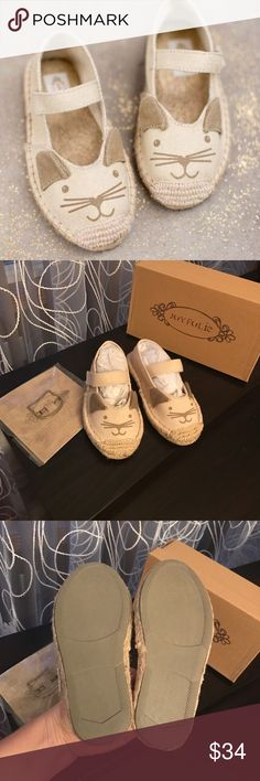 ‼️price firm‼️NWT Joyfolie Espadrilles New. Come in a box with a cute kitty clip joyfolie Shoes