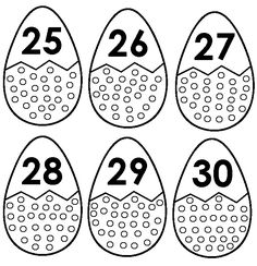 - COLOUR THE PICTURES. - CUT THE ZIG ZAG LINE    OF EACH EGG. - LAMINATE & PLAY.