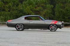 project 72 chevelle RS1 rs/ss ss 1972   red grey black custom interior pro touring spoiler fender side rally stripes http://www.chevelles.com/forums/showthread.php?t=361769&page=9