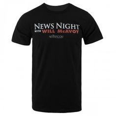 The Newsroom News Night T-Shirt