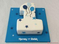 1st Birthday Cake Designs, Birthday Cake Kids Boys, Number Birthday Cakes, Baby First Birthday Cake, Baby Birthday Cakes, Baby Boy Cakes, Cakes For Boys, Birthday Cake Toppers, Flower Birthday