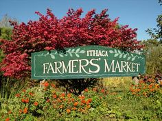 Ithaca Farmers' Market is home to numerous vendors selling produce, wine, meat and cheese, flowers, herbs, prepared foods and homemade crafts.