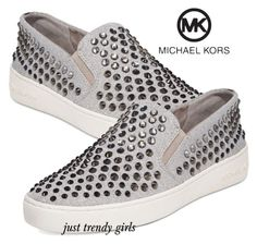 """michael kors slip on"" by justtrendygirls ❤ liked on Polyvore featuring Michael Kors"