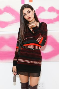 Rebecca Minkoff Store Opening In Los Angeles October 27 2015 > https://www.pinterest.com/VJustice4Me/give-me-a-kiss-to-build-a-dream-on/