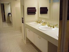 White House West Wing bathroom