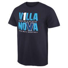 Villanova Wildcats Navy NCAA Men's Basketball V1LLA T-Shirt #villanova #college #wildcats