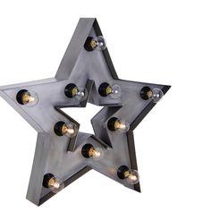 Lamp Ster Medium , Grijs