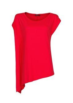 MANGO - T-shirt assimétrica
