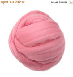 SALE 16 Micron Merino wool Roving Luxury Fiber for felters and spinner (Bridesmaid)