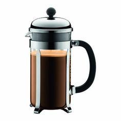 Bodum Chambord 8 cup French Press Coffee Maker  #winelovers #food #homedecor #dimpzbazaar #like #kitchentools #love #giftsforhim #yum #onlinegifts