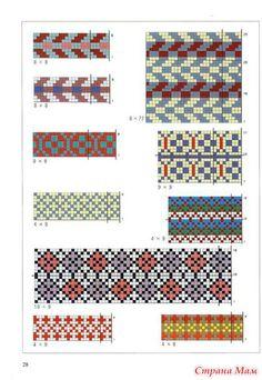 Жаккард --от японцев - Вязание - Страна МамJacquard --From Japanese - Knitting - Home Moms