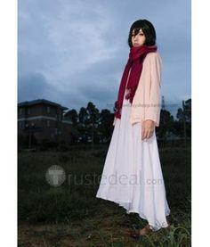 Attack on Titan Shingeki no Kyojin Mikasa Ackerman Young Child Cosplay Clothes Set$49.99 - Trustedeal.com