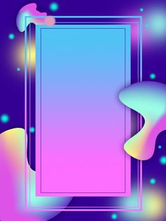 Fantasy fluid gradient ad background