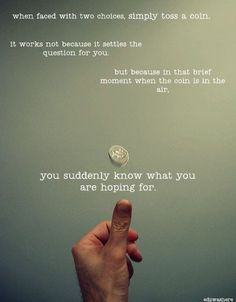 I beg to differ. I still over think it and watch the coin drop to the floor before deciding. lackadaisical - that's it.