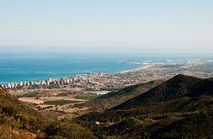 Vista de todo Castellón desde el Desierto de las Palmas.