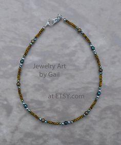 Ankle Bracelets, Jewelry Bracelets, Jewelery, Bangles, Necklaces, Beaded Braclets, Beaded Anklets, Beaded Choker, Beaded Jewelry Designs