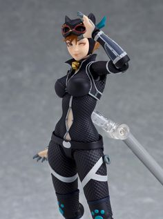Batman: Ninja Animated Movie figma Catwoman Official Figure Images From GoodSmile Catwoman Cosplay, Batman And Catwoman, Batgirl, Gatos Ninja, Batman Ninja, Gato Anime, Anime Figurines, Marvel Vs, Animation