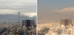 شاخص میزان آلودگی هوا؛ کارکرد جدید برج میلاد