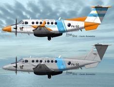 King Air 350ER - Prefectura Naval Argentina